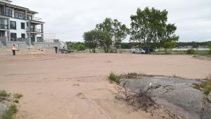 Parken på Fabriksudden i Hangö.