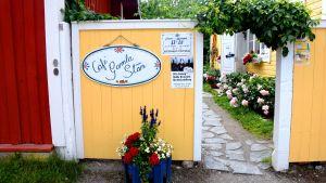 Café Gamla Stan i Ekenäs.