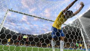 Semifinalen mellan Brasilien och Tyskland