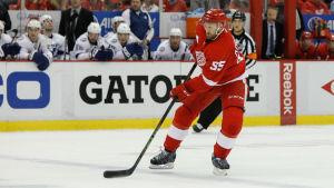 Niklas Kronwalls NHL-säsong tog slut mot Tampa Bay.