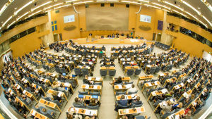 Nordiska rådets samlades i Stockholm 2014.