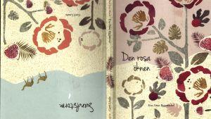 """Pärmbild till dubbelvolymen """"Den rosa öknen"""" och """"Sandstorm"""""""
