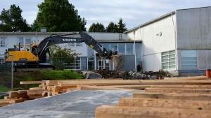 Yttermalax skolas renovering är i startgroparna.