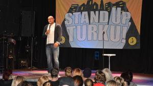 Ali Jahangiri, Stand Up, Turku 2014