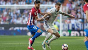 Toni Kroos klubb Real Madrid och Yannick Carrascos Atlético ställs mot varandra i Champions Leagues semifinalskede.