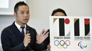 Grafikern bakom logon för Sommar-OS anklagas för plagiarism.