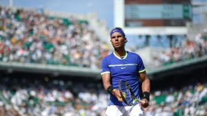 Rafael Nadal, franska öppna 2017.
