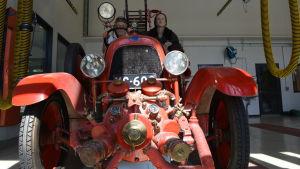 Brandbil, modell äldre i Jakobstad