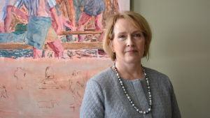 Museidirektör Kristina Ahmas.