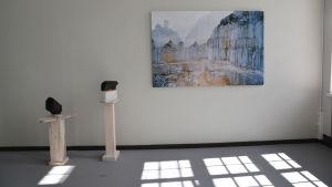 Konstverk på ArtSibbe17 i Nickby