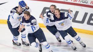 Finland lyckades till slut och firade VM-guld.