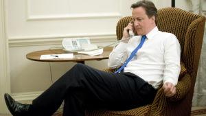 Cameron ska inte ha hunnit diskutera någon känslig information.