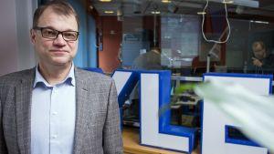 Juha Sipilä deltog i Statsministerns frågetimme i Yle Radio Suomi i S:t Michel den 19 mars 2017.