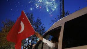 Efter folkomröstningen i Turkiet.