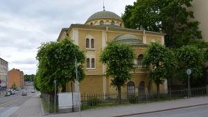Höghus byggs bredvid synagogan i Åbo
