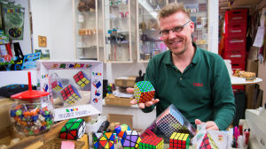 Tomas Lindén och olika typer av kubpussel