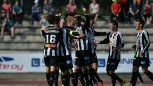 VPS vann i sin sista match på Karlsplan.