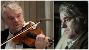 Philip Seymour Hoffman elokuvissa A Late Quartet (vas.) ja A Most Wanted Man.