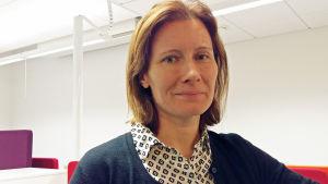 Specialpsykolog Heli Järnefelt på Arbetshälsoinstitutet.