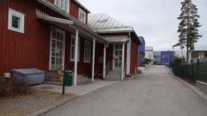 Finno skolas röda hus