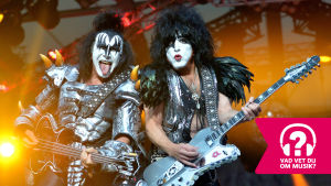 Gene Simmons och Paul Stanley från Kiss.