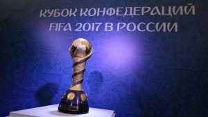 Åtta länder spelar de kommande veckorna om Confederations Cup-pokalen.