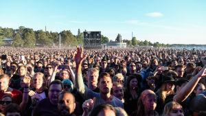 Festivalpublik.