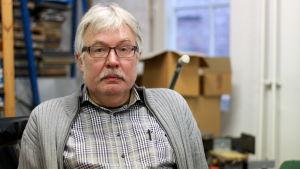 Klas Fransberg är ordförande för Filmcentrum Botnia och medlem i Finlandsvenskt filmcentrum