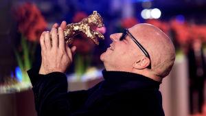Gianfranco Rosi och hans Guldbjörn.