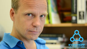 Joel Backström intervjuad för Kvanthopp.