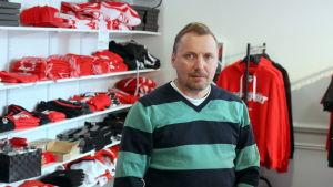 Jyrki Niemi, verksamhetsledare för Vasa Sport.