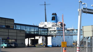 Wasa Express i hamnen i Vasa.