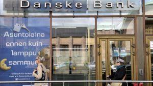 Danske Banks kontor på Brunnsgatan i Helsingfors.