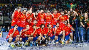 Spanien vann VM-guld i handboll på hemmaplan 2013.