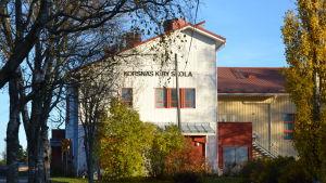 Kyrkoby skola i Korsnäs.