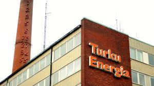 bild på Åbo Energis huvudbyggnad