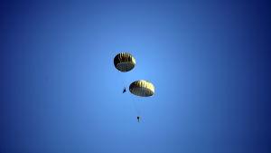 Israeliska fallskärmshoppare