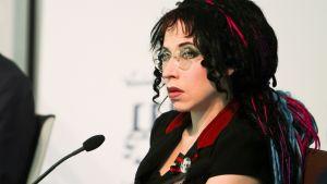 Författaren Sofi Oksanen på Gullranda