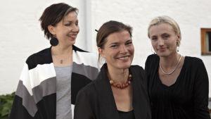 Arkkitehdit Saija Hollmén, Jenni Reuter ja Helena Sandman