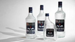 Tapio Wirkkalan suunnittelemat vodkapullot