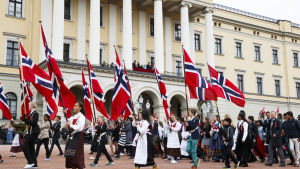 Nationaldagsparad i Oslo