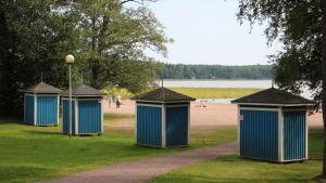 Plagen, badstranden i Lovisa.