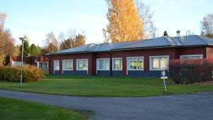 Internatet vid Korsnäs kurscenter.