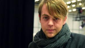 Författaren och kriminologen Christoffer Carlsson