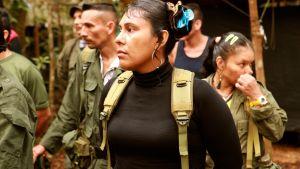 Patricia on taistellut 16 vuotta Farc-sissien riveissä.
