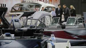Båtmässan i Moskva 2015.