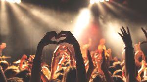 Publiken på en konsert