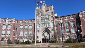Campuset på Providence College.