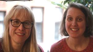 Harriet Abrahamsson och Annika Sandelin