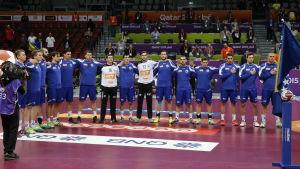 Bosnien-Hercegovina deltog vid handbolls-VM i Qatar 2015.